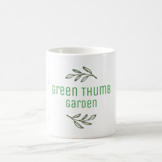 Green Thumb Garden Mug