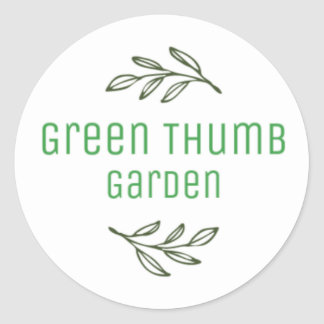 Green Thumb Garden Stickers