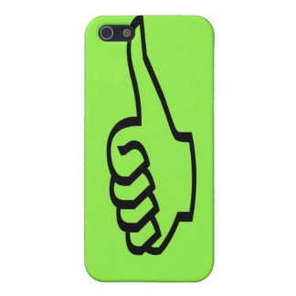 Green Thumbs Up iPhone 4 Case