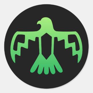 Green Thunderbird Sticker