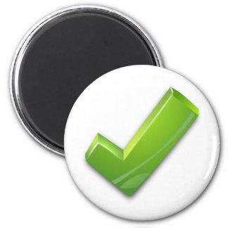 Green-Tick Magnet