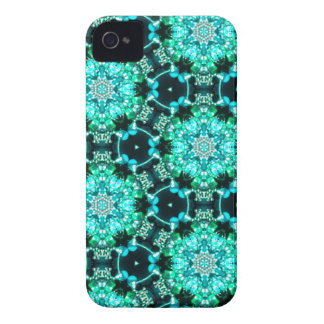 Green Tilly Lace Case-Mate iPhone 4 Cases
