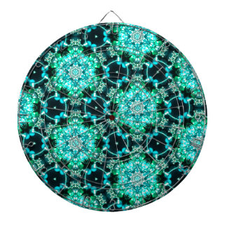 Green Tilly Lace Dartboard