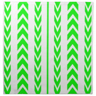 Green Tire Tread Napkin