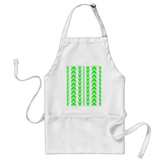 Green Tire Tread Standard Apron