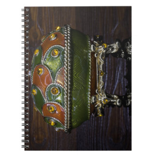 Green to Orange Notebook