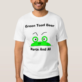 Green Toad Beer T Shirts