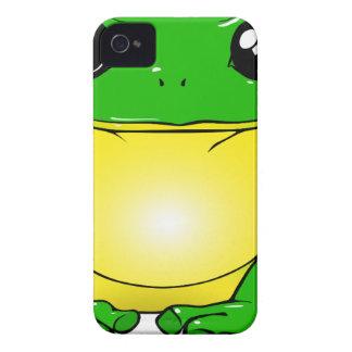 Green Toad Cartoon iPhone 4 Case-Mate Case