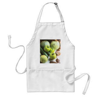 Green tomatoes and melons standard apron