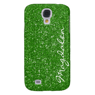 Green Tones Glitter & Sparkles Customized