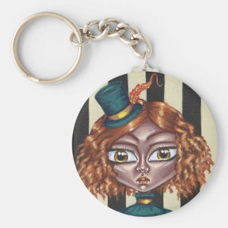 Green Top Hat Keychain