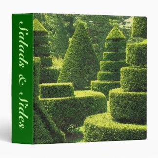 Green Topiary - Recipe Binder