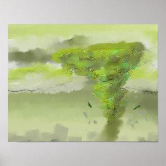 Green Tornado Original Poster