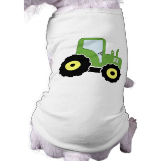 Green toy tractor shirt