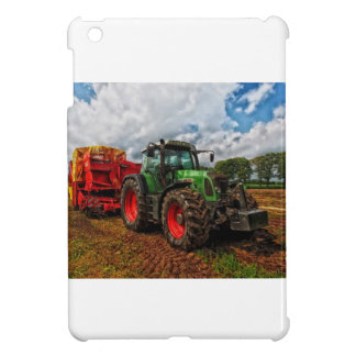 Green Tractor & Grain mixer iPad Mini Cover