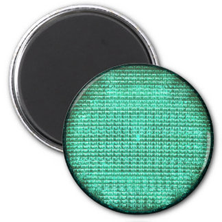 Green Traffic Light Magnet