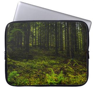 Green travelled Estonian Laptop Sleeves