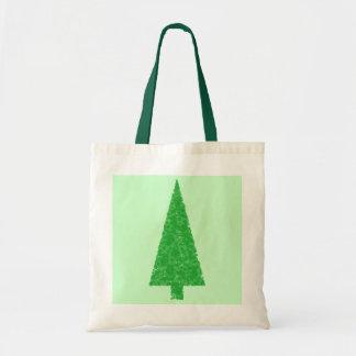 Green Tree. Christmas, Fir, Evergreen Tree. Tote Bag