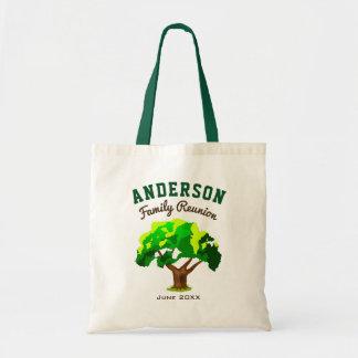 Green Tree Custom Name Family Reunion
