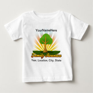 Green Tree Family Reunion Logo Baby T-Shirt