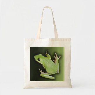 Green Tree Frog Budget Tote Bag