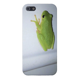 Green Tree Frog iPhone 5/5S Cover