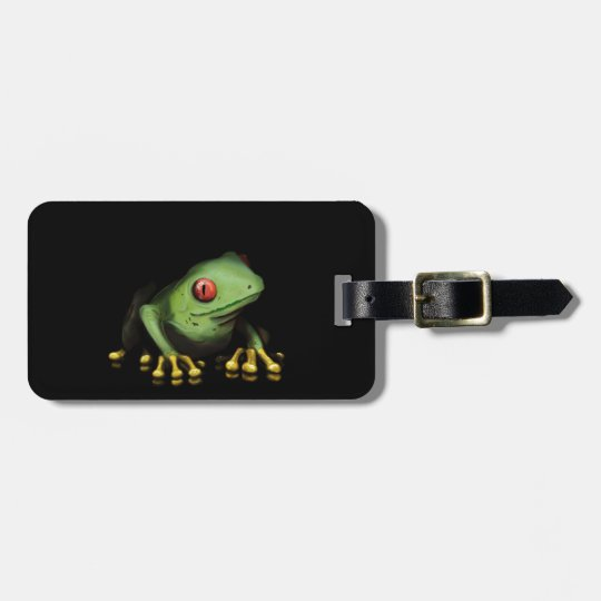 Green Tree Frog Products Customize Bag Tag