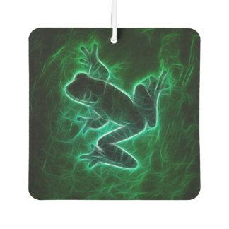 Green Tree Frog Silhouette Air Freshener