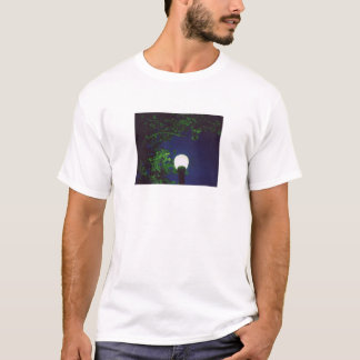 green tree under light T-Shirt