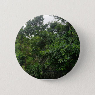 Green Trees 2 Inch Round Button