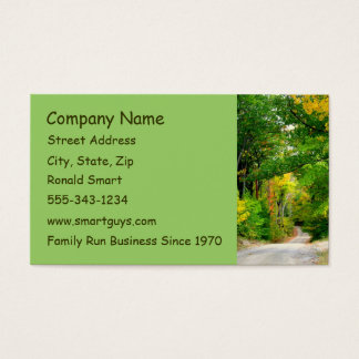 Green Trees Business Card