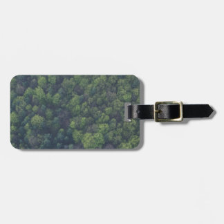 Green Trees Luggage Tag