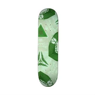 green trendy Pattern Skate Boards