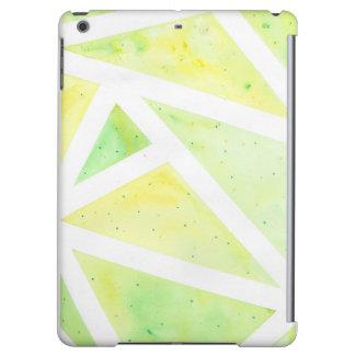 Green Triangle Case iPad Air Case
