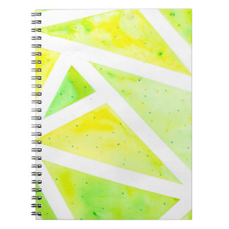 Green Triangle Notebook