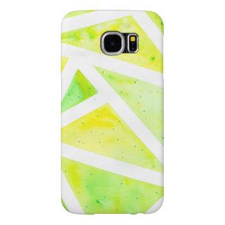 Green Triangle Samsung Galaxy S6 Case