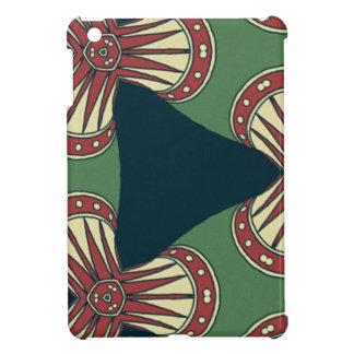 Green Triangles Case For The iPad Mini