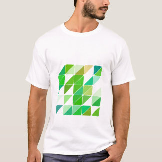 Green Triangles T-Shirt
