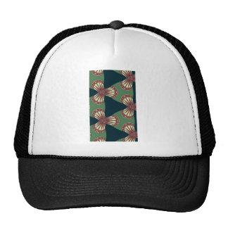 Green Triangles Trucker Hat