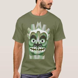 Green Tribal Tiki Beachcomber T-Shirt