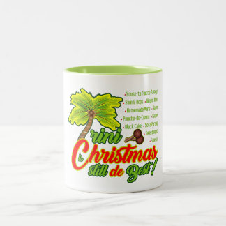 Green Trini Christmas (still d best) Mug