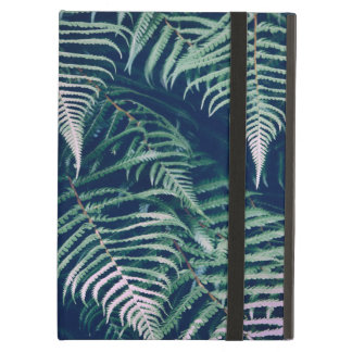 Green Tropical Fern Leaves Natural Pattern Cover For iPad Air