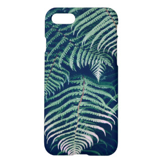 Green Tropical Fern Leaves Natural Pattern iPhone 8/7 Case
