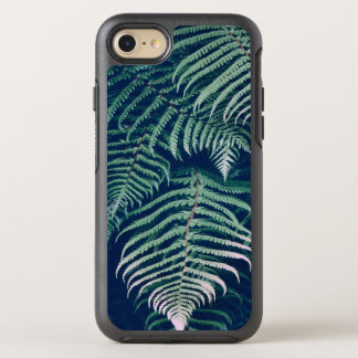 Green Tropical Fern Leaves Natural Pattern OtterBox Symmetry iPhone 8/7 Case