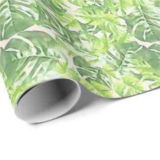 Green Tropical Leaf by Redux121DesignStudio