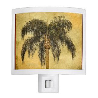 Green Tropical Palm Tree Hawaiian Vintage Palms Night Lites