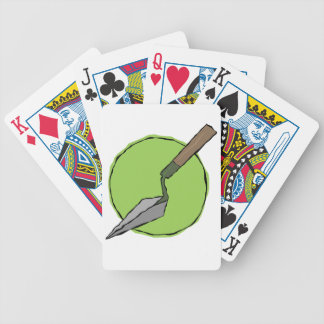 Green Trowel - Archaeologist's Toolkit Bicycle Playing Cards