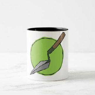 Green Trowel Mug - Archaeologist's Tool Kit