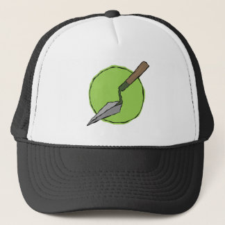 Green Trowel Trucker Hat