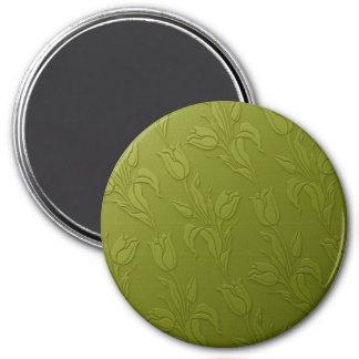 Green Tulips Magnet